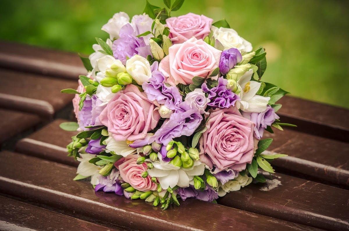 Свадебный букет Водопад любви